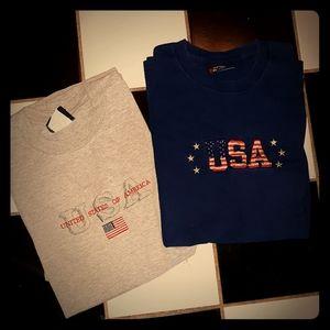 4 for $10!! 2 Vintage USA 90s Tees